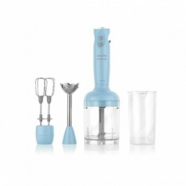 Schafer Elektro Chef Siyah Mini Blender Set Mavi