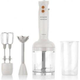 Schafer Electro Chef Blender Seti Beyaz