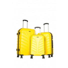 Ççs 3'lü Valiz Seti Sarı