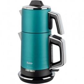 Fakir Temper Çelik Çay Makinesi Turquoise