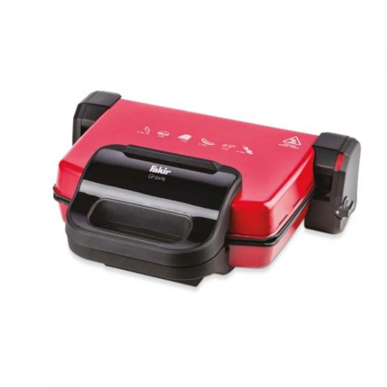 Fakir Gravis Tost Makinası Kırmızı