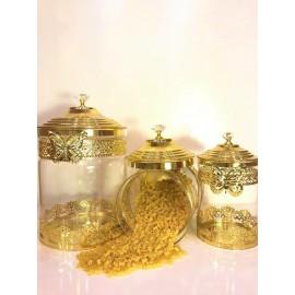 Gold Kavonoz 3Lü